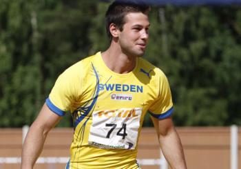 Bjorn Barrefors - Swedish athlete