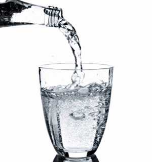 Glass of water - A glass of water