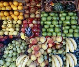 Fruits - Fruits to choose from