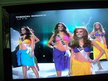 Ms. Universe 2011 Beauty Pageant - Beautiful candidates