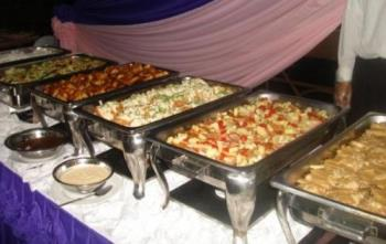 Buffet table - What are your choices