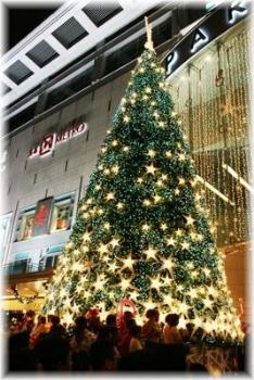 Giant Christmas Tree - This 15m tall Christmas tree was one of the highlights at Orchard Road's Christmas Light Up event last year.