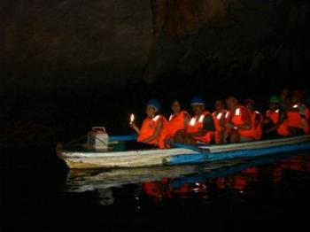 Underground river - Dark but exciting place to behold