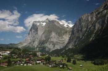 Grindelwald - The village of Grindelwald.