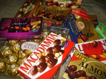 Yummy chocolates - I love eating chocolates!
