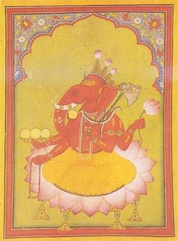 Ganesha - Historical image of Ganesha.