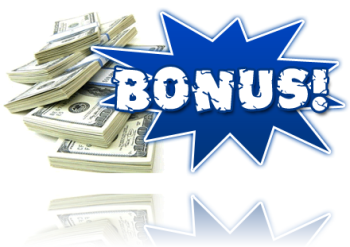 bonus - i do really want to get a bonus from anywhere.