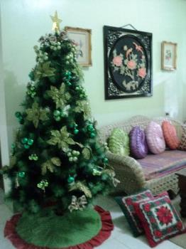 My Christmas Tree - Greens and Glitters