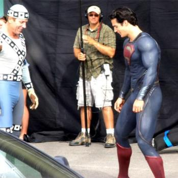 man of steel changes his costume - superman