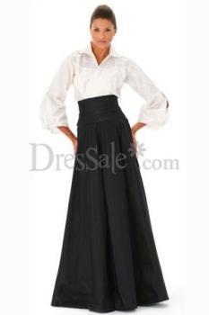 Formal Wear - white Blouse and Black skirt