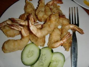 Camaron Rebosado - Shrimp Dish