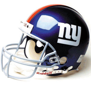 Giants Helmet - New York Football Giants helmet in hi-resolution.