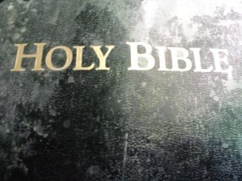 My Old Bible Stands - And it will stand forever