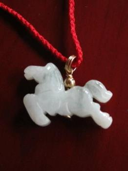 Horse, lucky charm? - Nope, not the horse or even the horse shoe for that matter.