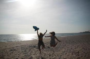 Beach - Joy at the beach