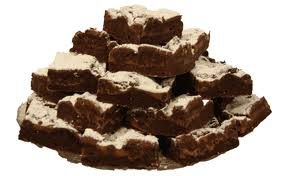 brownies - brownies with frosting