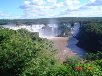 Iguazú Falls - This is a picture taken from the side that is in Argentina. Awesome!
