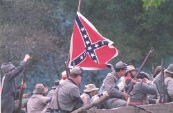 Civil war reenactors - Civil war reenactors