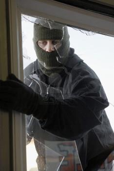 thief on your own house :P - looks like a thief
