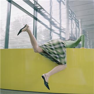 climbing up and down in skirt - climbing wall wearing skirt