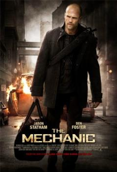 The Mechanic - The Mechanic, starring Jason Statham, Ben Foster and Donald Sutherland. A good action film.