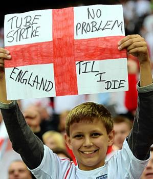 I am an English fan. So I will want my team to win - I am an English fan. So I will want my team to win the Euro 2012!