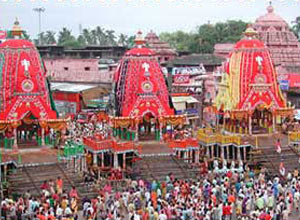 car festival in puri - this is world famous rath yatra in puri