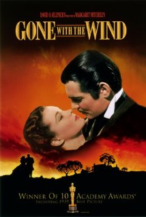Gone with the Wind - Gone with the Wind, starring Clark Gable, Vivien Leigh and Thomas Mitchell