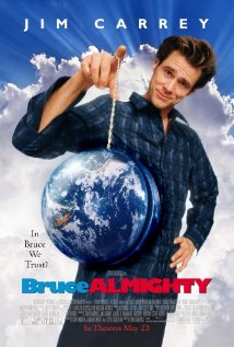 Bruce Almighty - Bruce Almighty, starring Jim Carrey, Jennifer Aniston and Morgan Freeman