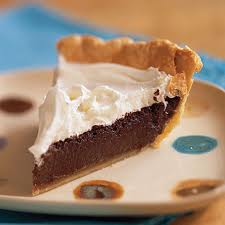 chocolate pie - I like to eat chocolate pie