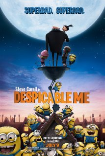 Despicable Me - Despicable Me, voices Steve Carell, Jason Segel and Russell Brand ....