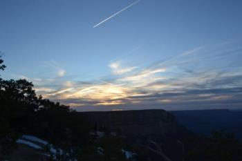 Arizona Sky - Here is my photo of the Arizona sky at the Grand Canyon, March 2012.