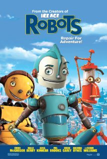 Robots - the cartoon movie Robots