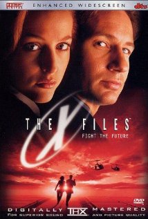 The X Files - The X Files, starring David Duchovny, Gillian Anderson and John Neville