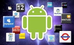 Android apps - a photo of Android apps