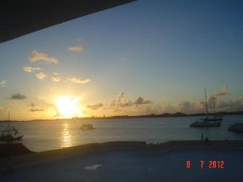 Sunset at St. Maarten - A sunset for Debbie.