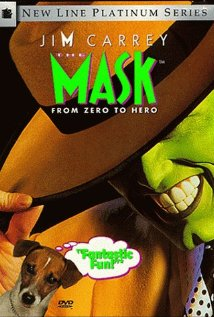 The Mask - The Mask, starring Jim Carrey, Cameron Diaz and Peter Riegert