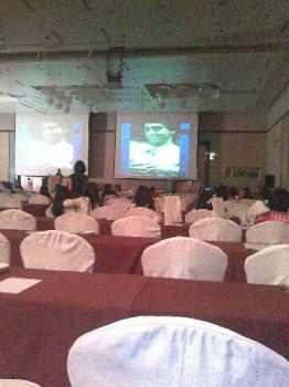 Attending conferences - They are in a postgrad course