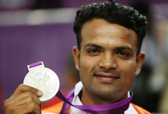 Second Medal for india - Vijay kumar