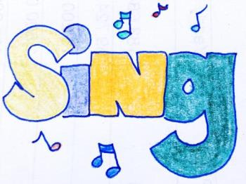 Sing - I like to hear great singers sing, they soothe the stressed mind and heart!