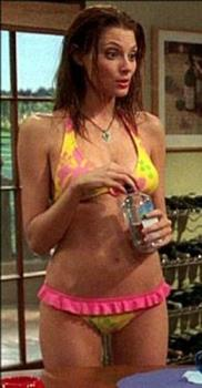 April Bowlby - April Bowlby as Kandi on Two and a Half Men around 2003.