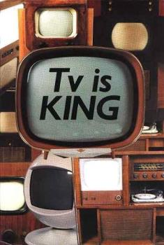 TV is king for many people. It will take a long ti - TV is king for many people. It will take a long time to wean off the addiction.