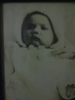 My Photo on my very first passport - This was taken for my passport when I was about 6 months old