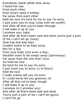 i want to meet you tell im sorry lyrics