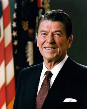 President Ronald Reagan is considered as one of th - President Ronald Reagan is considered as one of the best USA Presidents.