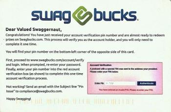 Swagbucks Account Verification PIN Mail - This is an actual mail picture. Was dispatched on 19th November, 2012. Reached today, 5th December, 2012. So it can be safely assumed that it takes about 25-30 days for the mail to reach us in India.