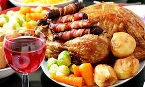 Christmas dinner - Delicious Christmas dinner