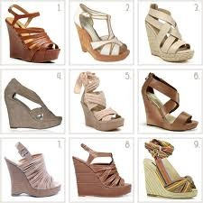 Wedge shoes - Comfortable wedge shoes