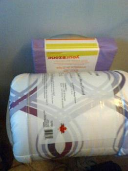 Bedsheets & Comforter - bedsheets, and comforter I bought.