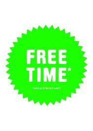 Free time is hard to get - Free time is time for mylot